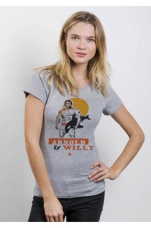 L'Arnold T-shirt Femme Col Rond