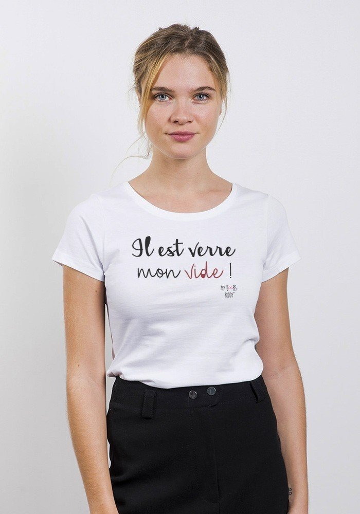 Verre Vide T-shirt Femme