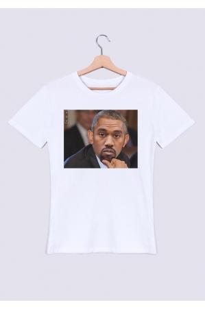 Obama Kanye T-shirt Homme Col Rond