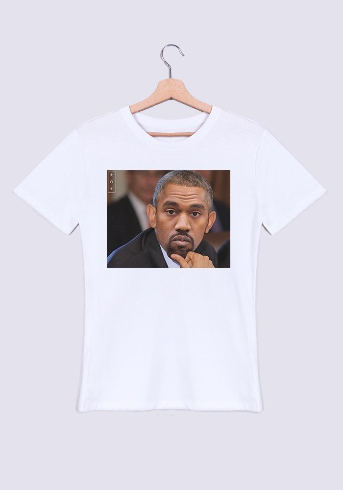 Curry Obama T-shirt Homme Col Rond