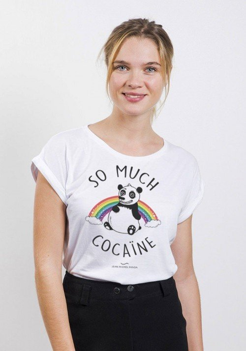 So much cocaine T-shirt Femme