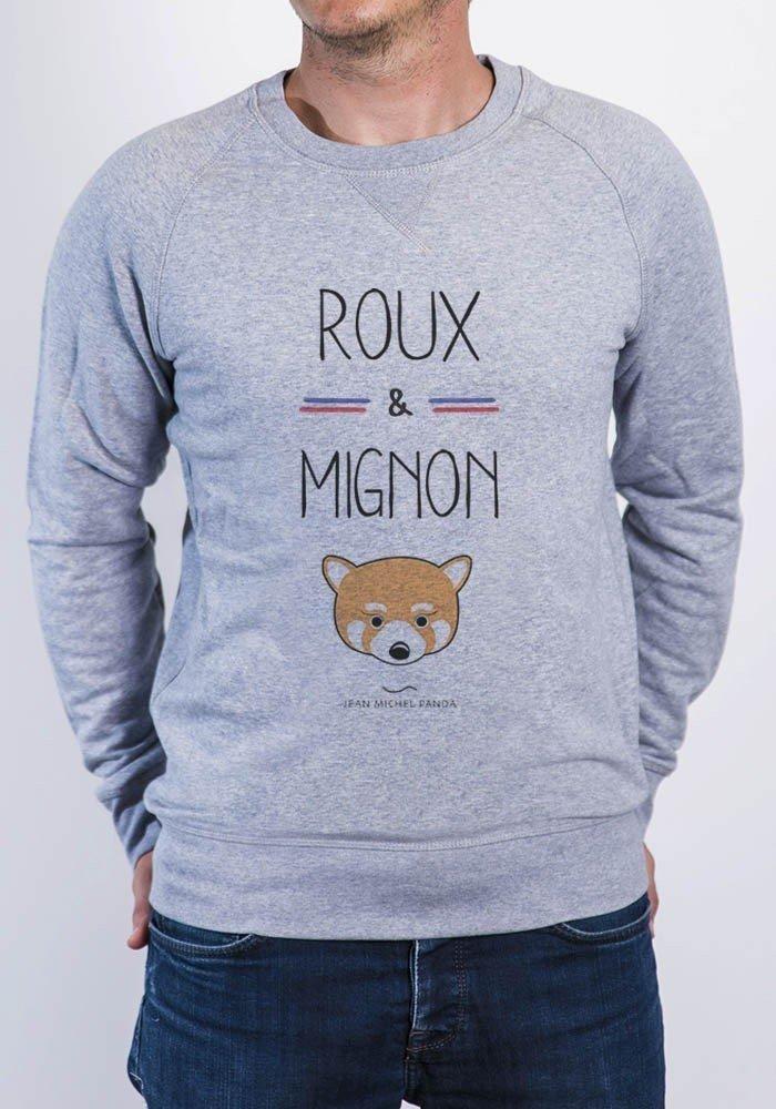 sweat Homme Roux et Mignon