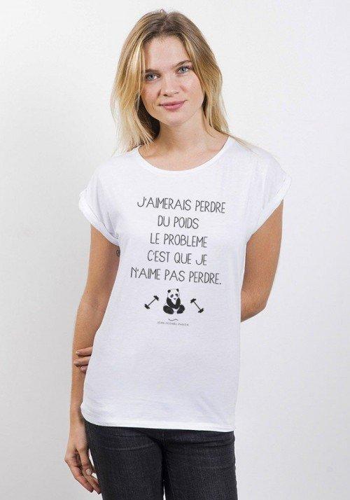Perdre du poids T-shirt Femme