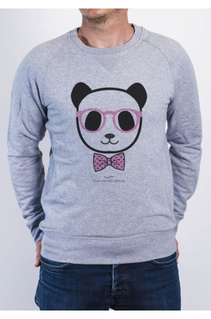 Panda noeud pap - Sweat Homme