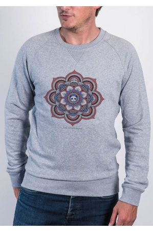 Mandala Panda Sweat Homme