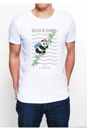 Dealer de Bambou T-shirt Homme Col Rond