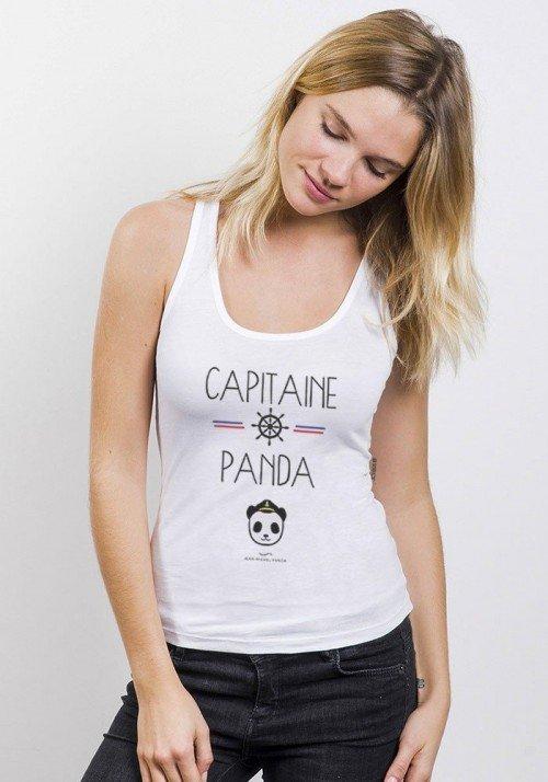 Capitaine Panda Débardeur Femme