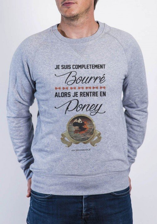 Bourré Sweat Homme