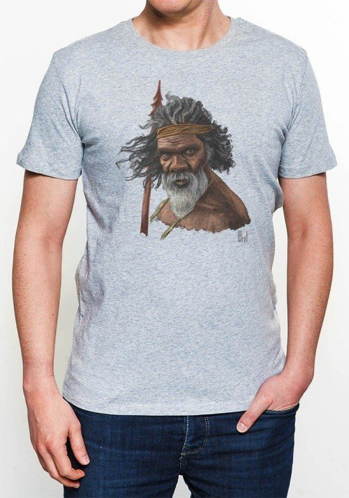 Tribute To Australia T-shirt Homme Col Rond