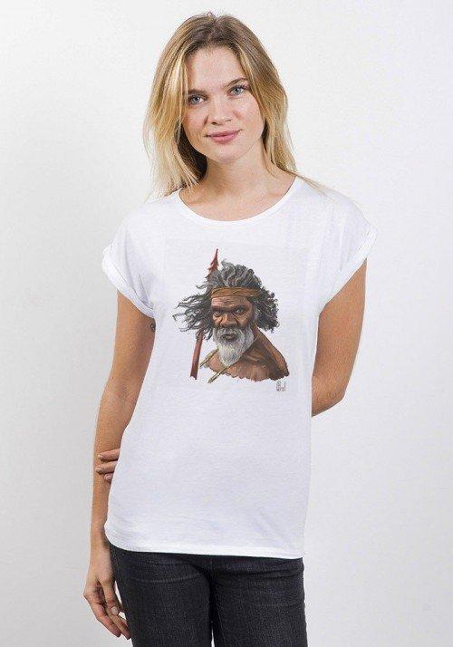 Tribute To Australia T-shirt Femme Manches Retroussées