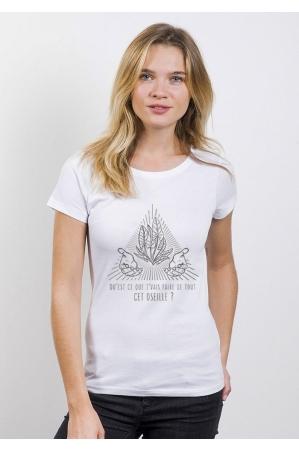 Oseille T-shirt Femme Col Rond