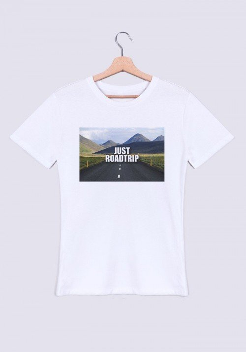 Road Trip T-shirt Homme Col rond