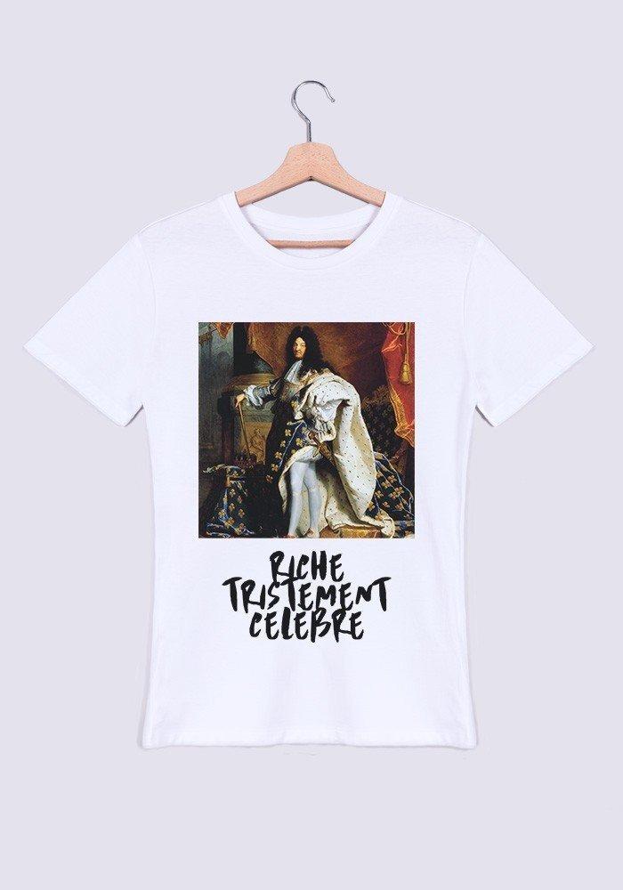 Riche Tristement Célèbre T-shirt Homme Col Rond