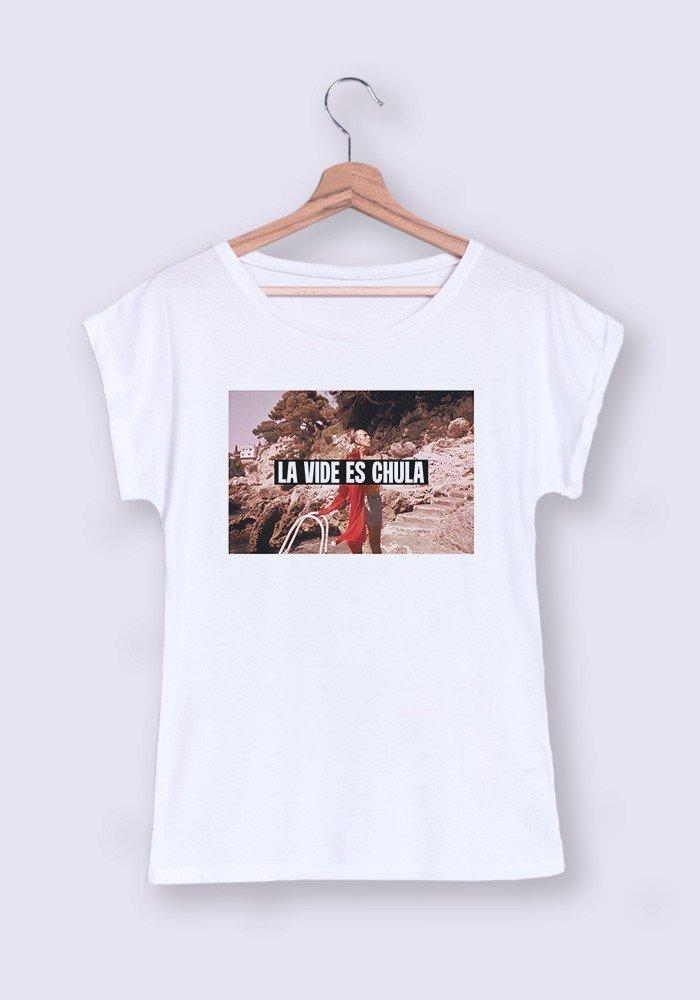La vida es chula T-shirt Femme