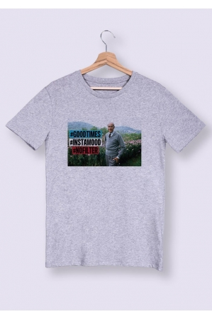 Instamood T-shirt Homme Col rond