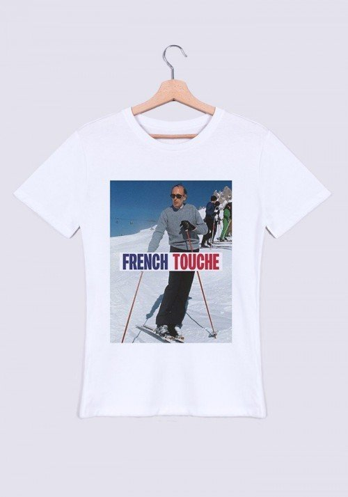 French Touche T-shirt Homme Col Rond