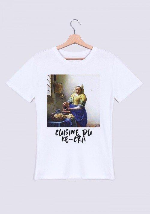 Cuisine du ke-cra T-shirt Homme Col rond
