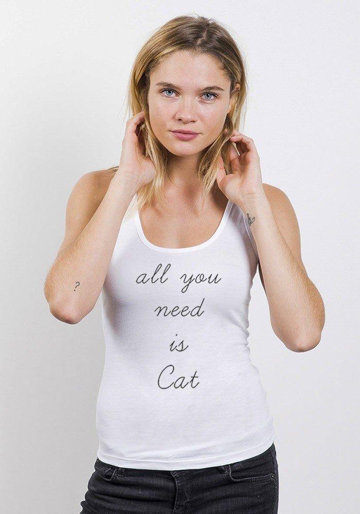 Débardeur Femme All U Need Is Cat