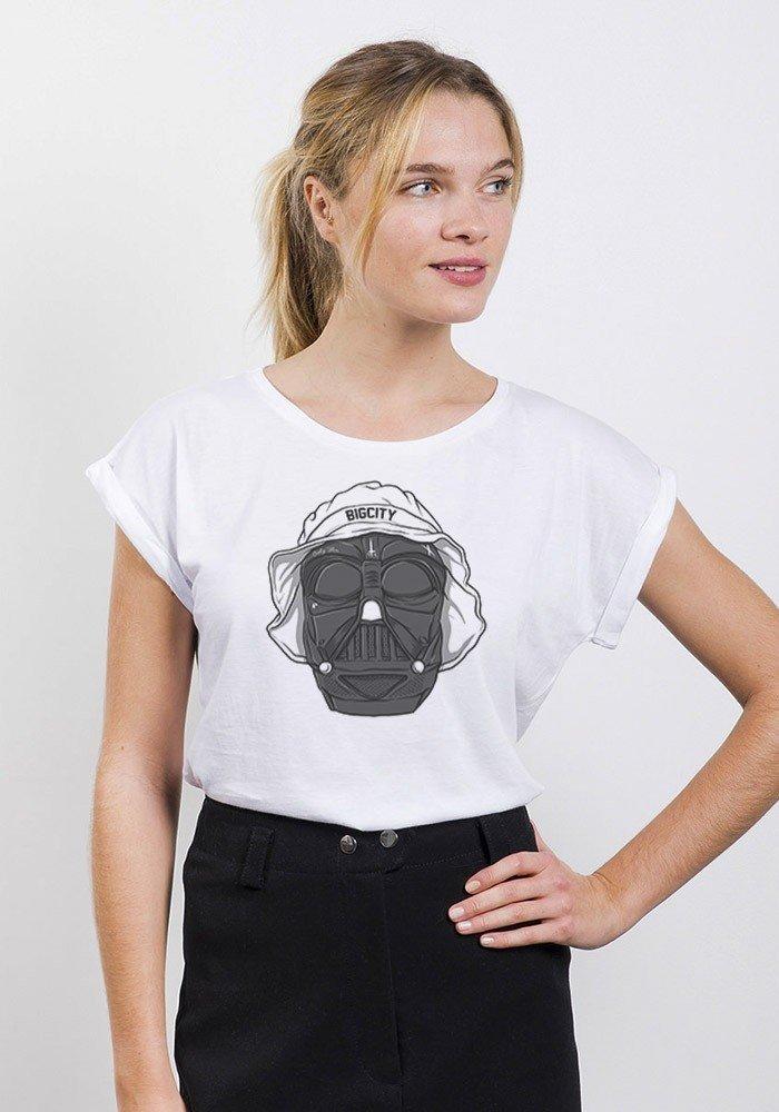 Thug Vador T-shirt Femme Manches Retroussées