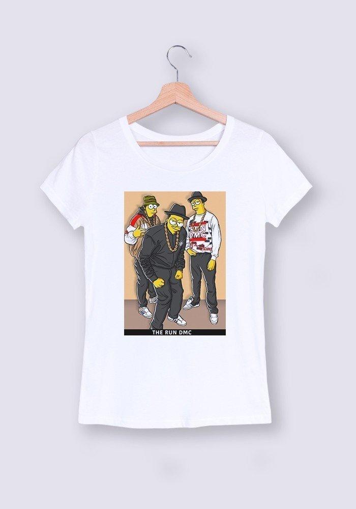 The Run DMC T-shirt Femme Col Rond