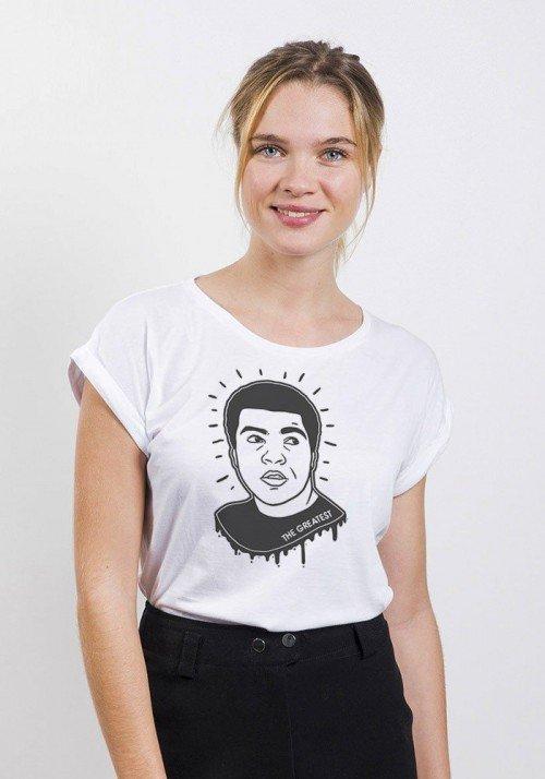 The Greatest T-shirt Femme Manches retroussées