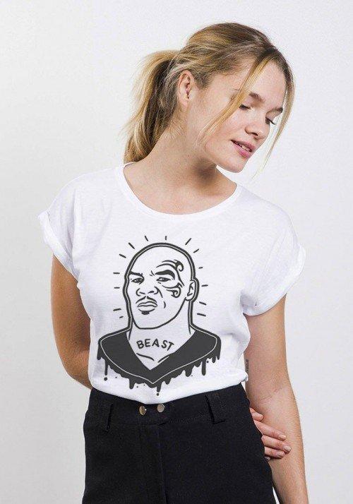 The Beast T-shirt Femme Manches Retroussées