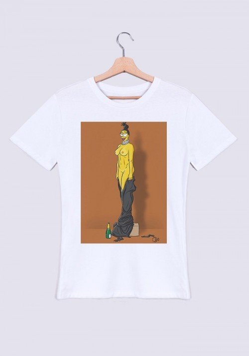 Miss Karda T-shirt Homme Col Rond