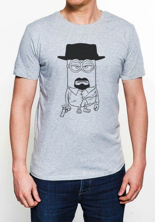 Mini Heisen T-shirt Homme Col rond