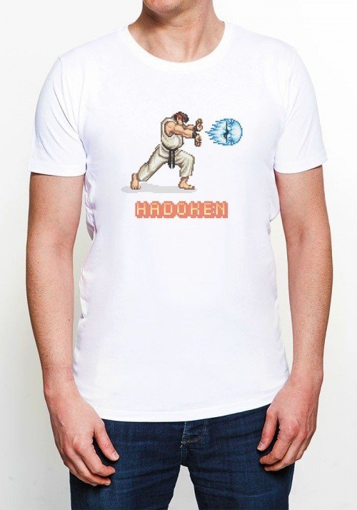 Fighter T-shirt Homme Col Rond