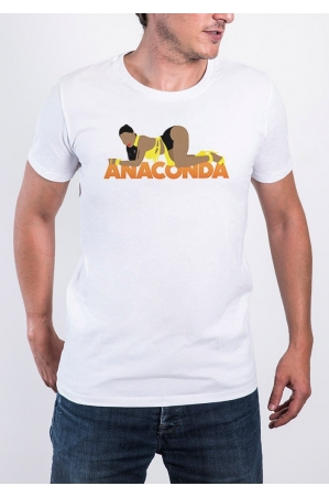 Anaconda T-shirt Homme Col Rond