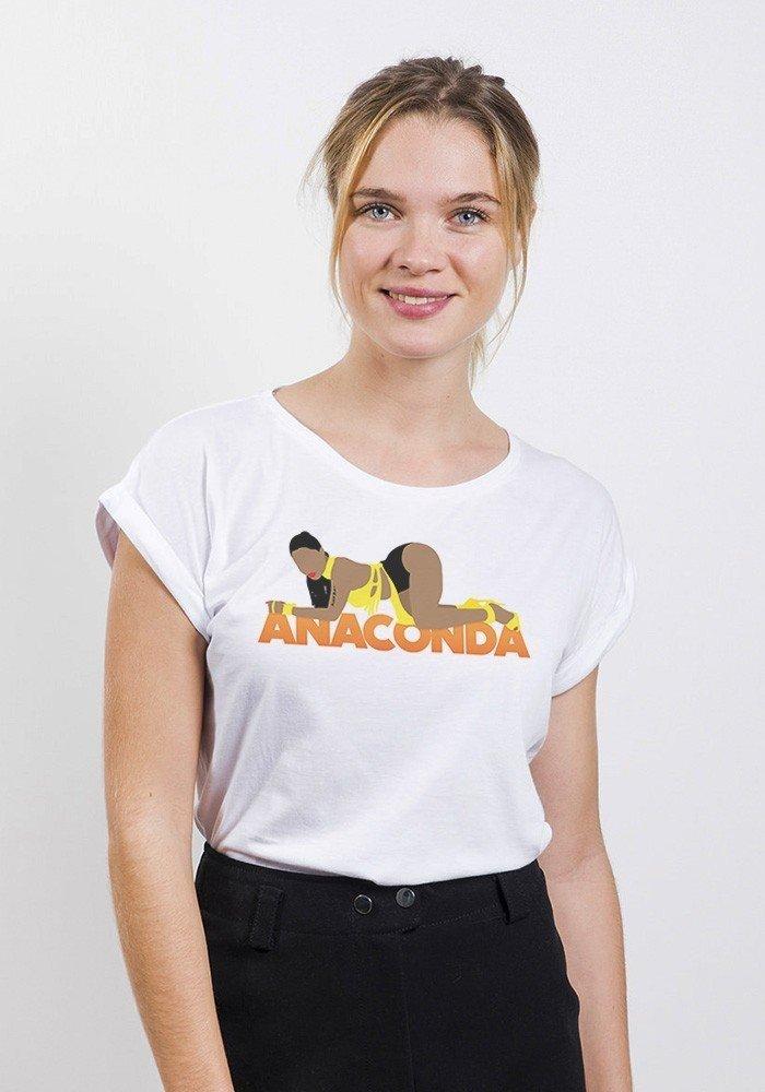 Anaconda T-shirt Femme