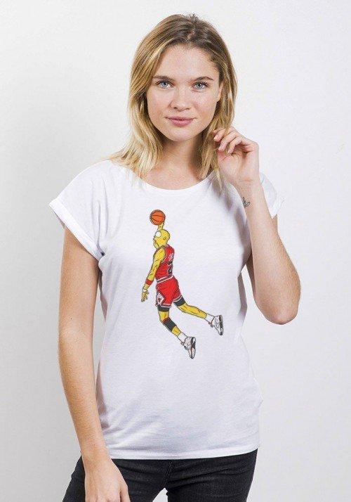 Air City T-shirt Femme Manches retroussées