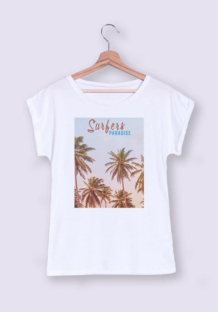 Surfers Paradise T-shirt Femme