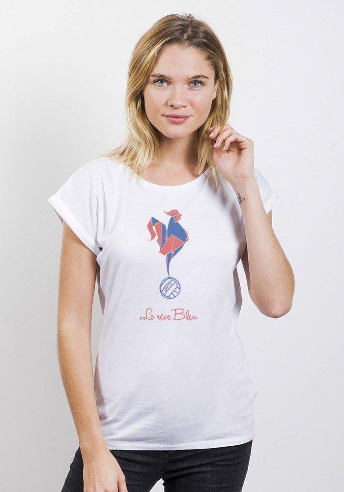 Coq foot T-shirt Femme