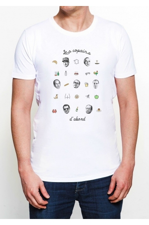 T-shirt homme col rond Les Copains