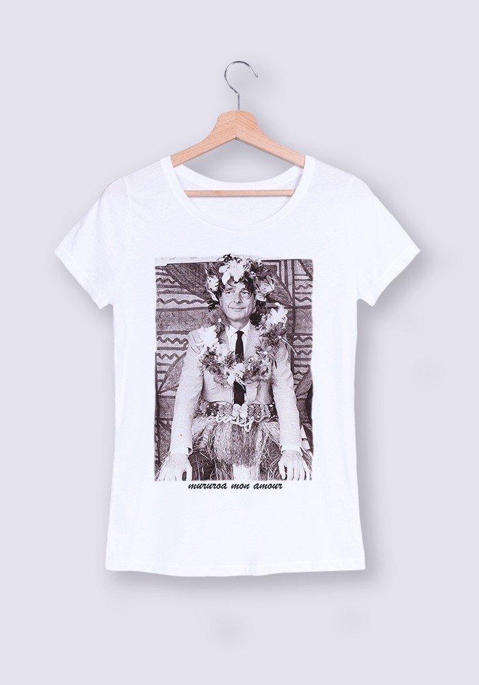 T-shirt femme Col rond Mururoa