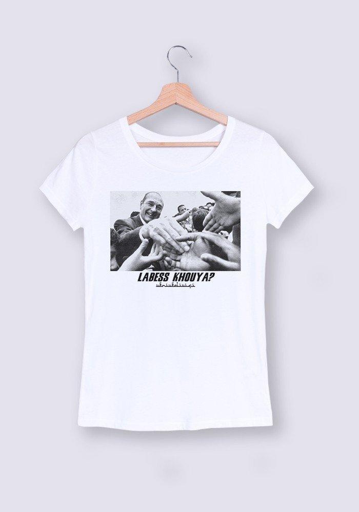 T-shirt Femme col rond La Bess Khouya