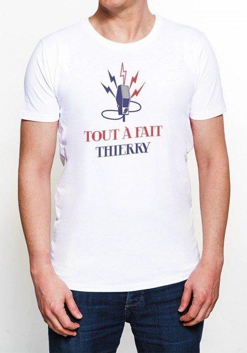 Tout à fait Thierry T-shirt Homme Col rond