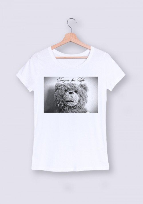 Ted Degen T-shirt Femme Col Rond