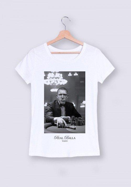 La Haine T-shirt Femme Col Rond