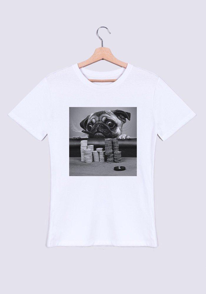 Tshirts Homme Gambling Pug