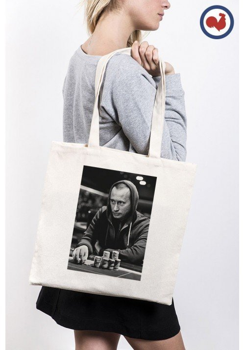 Gambling Poutine Totebag Made in France