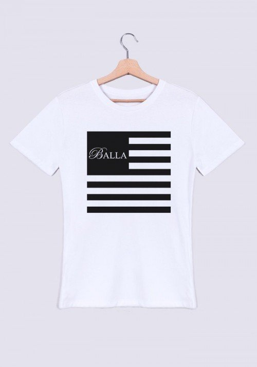Flag T-shirt col rond Homme