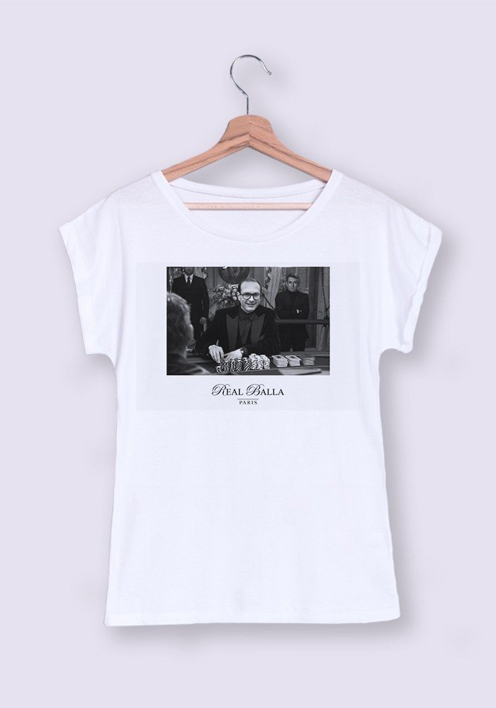 Tshirts Femme Chirac Casino