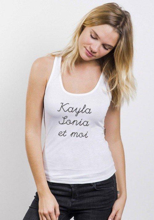Kayla Sonia et Moi Débardeur Femme