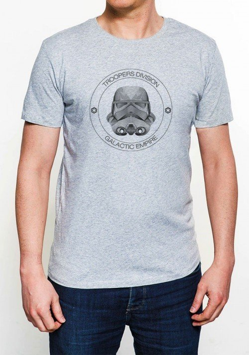 Troopers division T-shirt Homme Col Rond