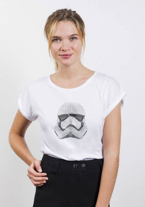 Polygon Trooper T-shirt Femme Col Rond