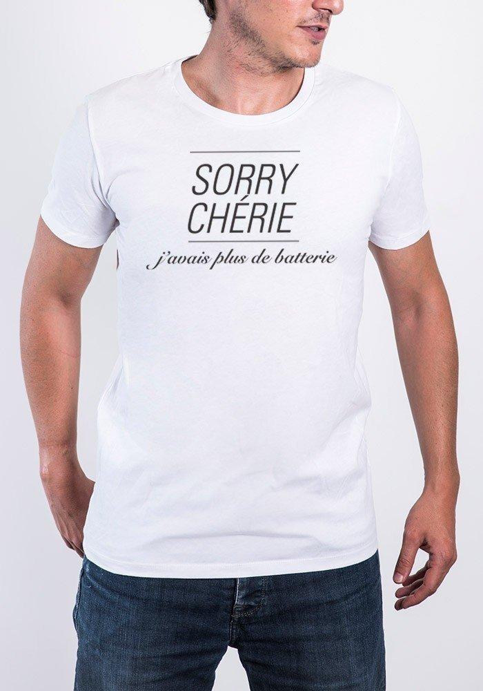 Tshirts Homme Sorry Chérie