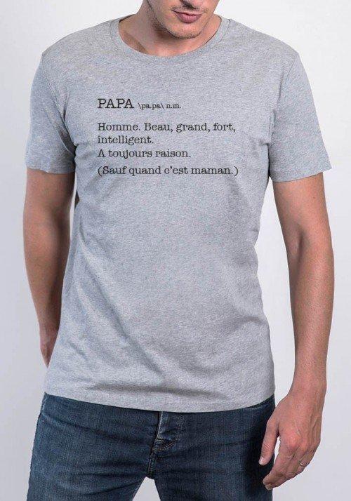 Papa Définition - T-shirt Homme