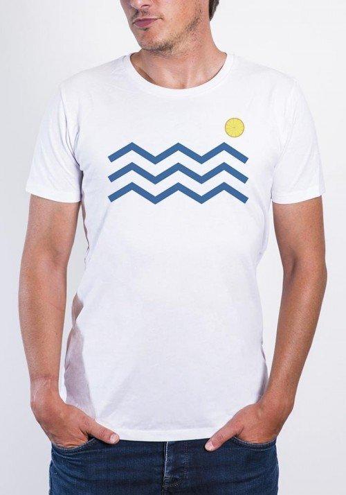 Vagues citrons - T-shirt Homme